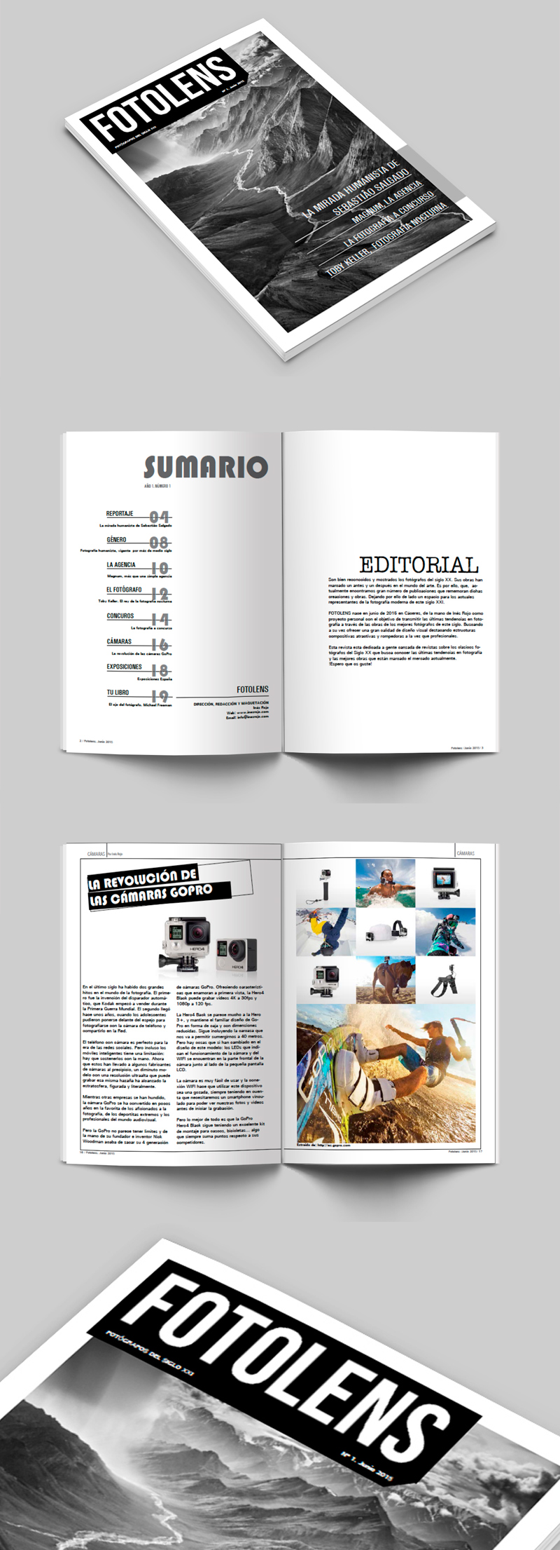 Magazine Fotolens
