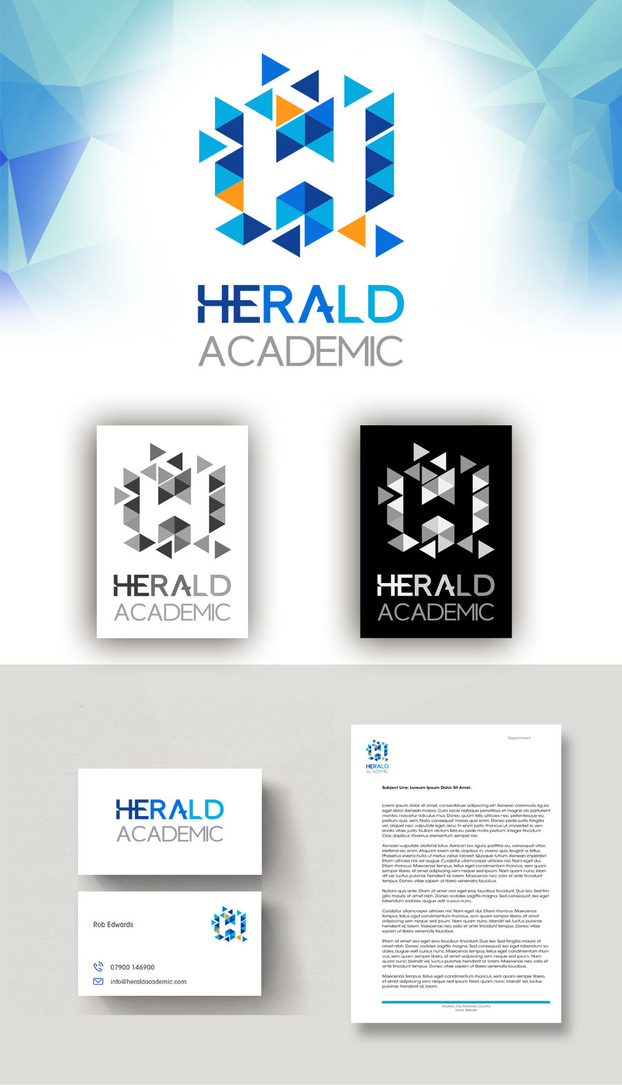 Herald Academic Logo
