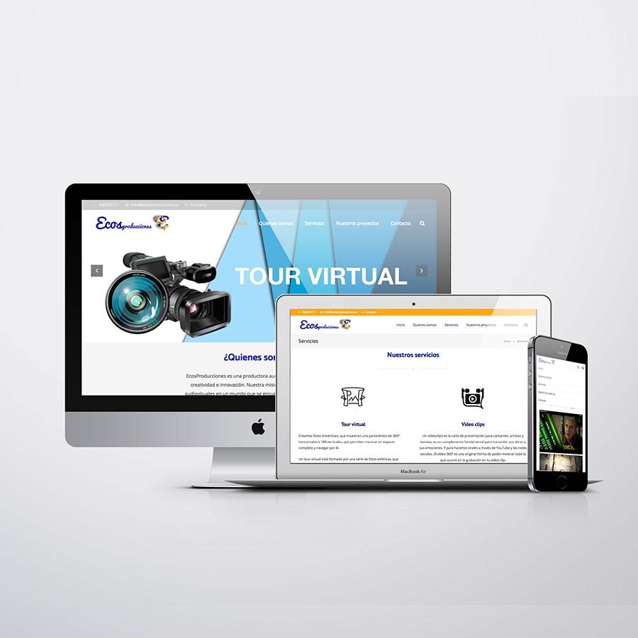 Virtual tour website